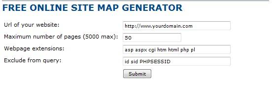 sitemap senerator