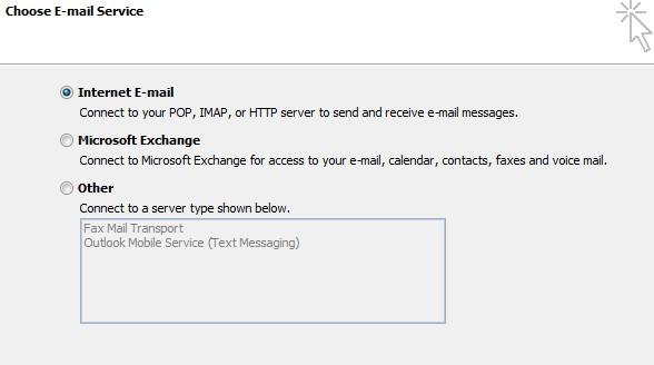 E-mail Services