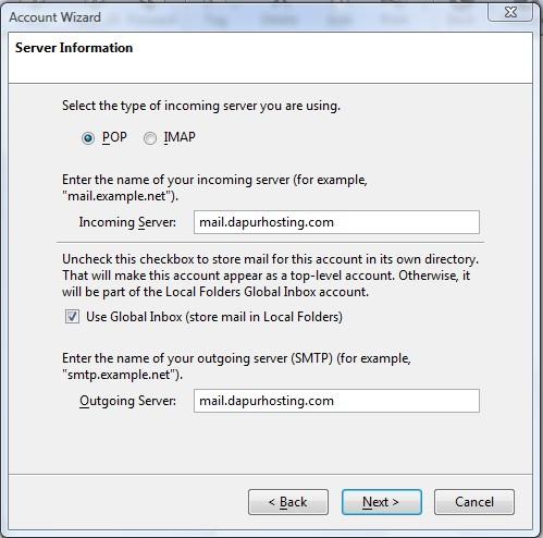 Server Information